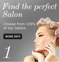 Step 1 - Find the perfect Salon